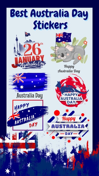 Australia Day Emoji Stickers screenshot-3