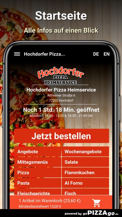 Hochdorfer Pizza Hochdorf screenshot 2