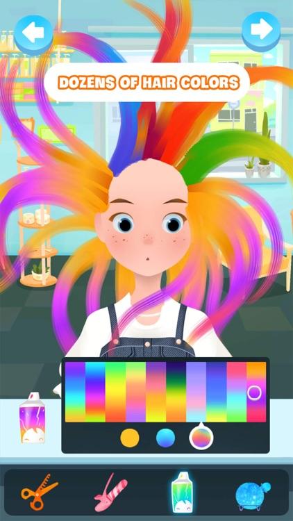 Hair salon & makeup game