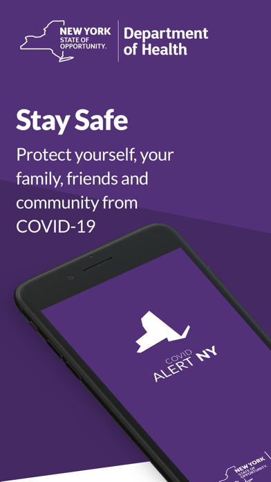 COVID Alert NYScreenshot of 1