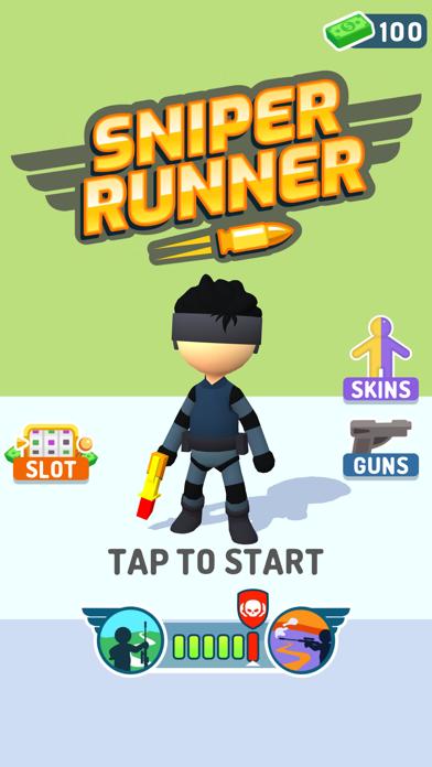 Sniper Runner screenshot 1
