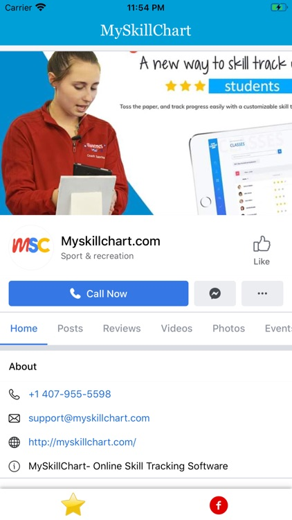 MySkillChart