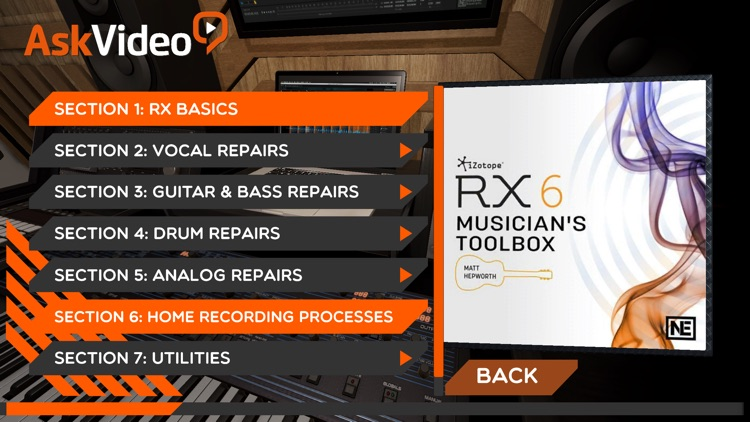 Musician's Toolbox for RX 6