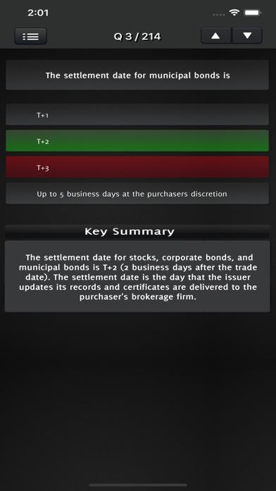 Series 7 Question Bank Exam screenshot 5