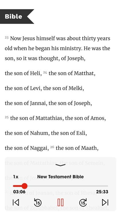 Bible in One Year screenshot-3