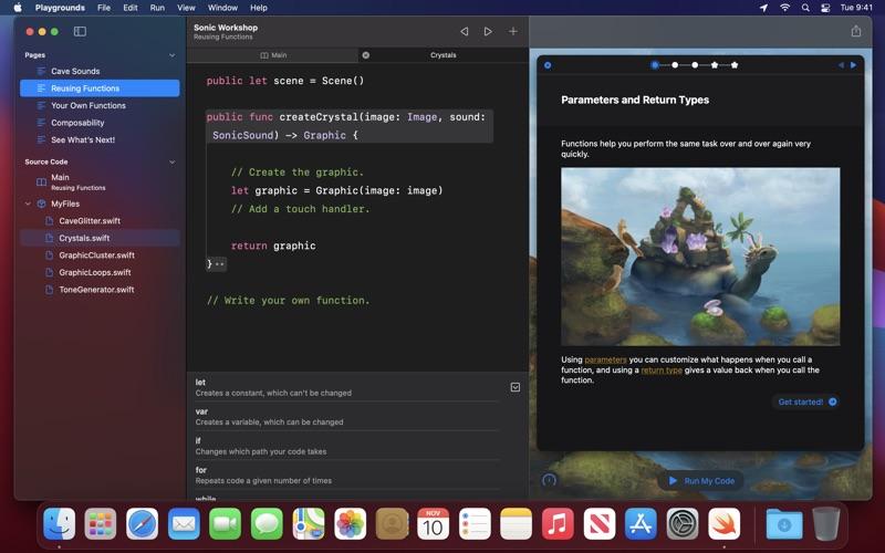Swift Playgrounds скриншот программы 3