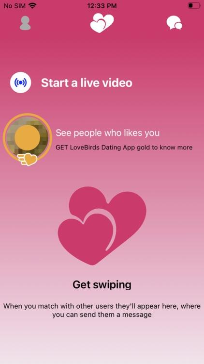 LoveBirds Dating App screenshot-4