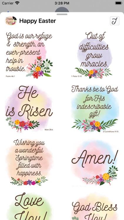 Easter Greetings, Bible Verses screenshot-4