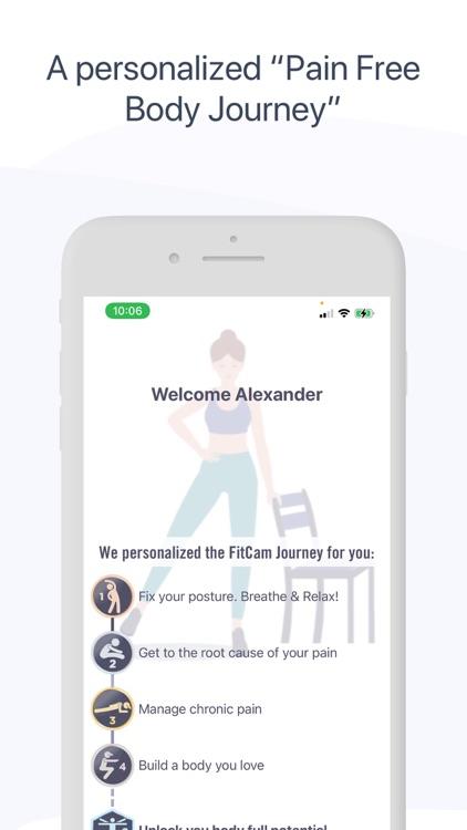 FitCam: Back, Neck & Posture screenshot-3