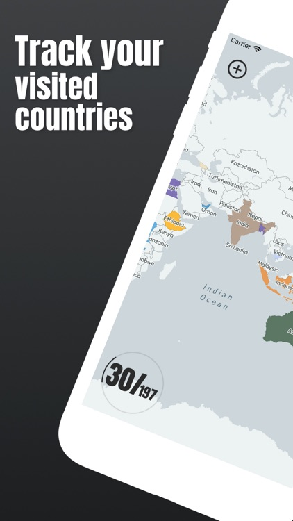 World Map: Visited Countries