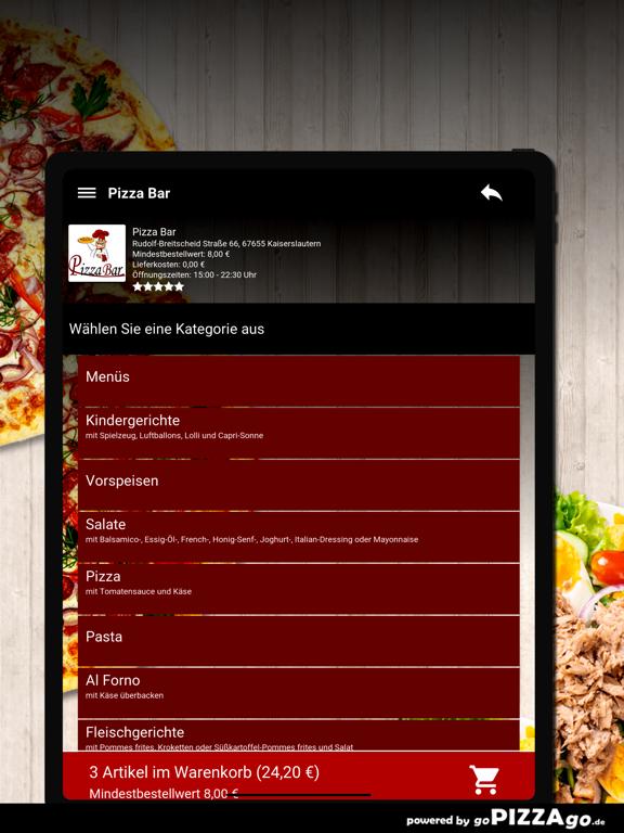 Pizza Bar Kaiserslautern screenshot 8