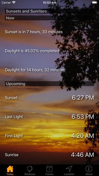 Sunset and Sunrise Timesのおすすめ画像1