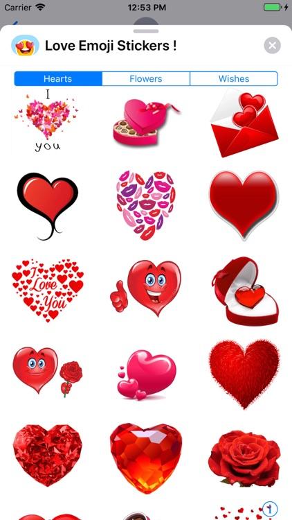 Love Emoji Stickers ! screenshot-5