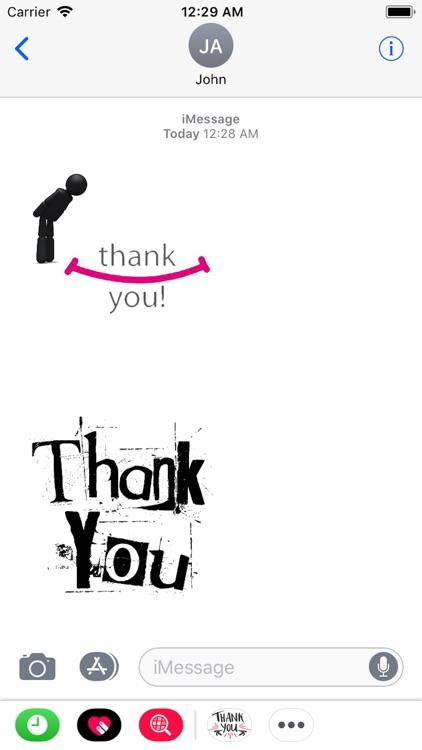 Thank You Stickers 2018 screenshot-4