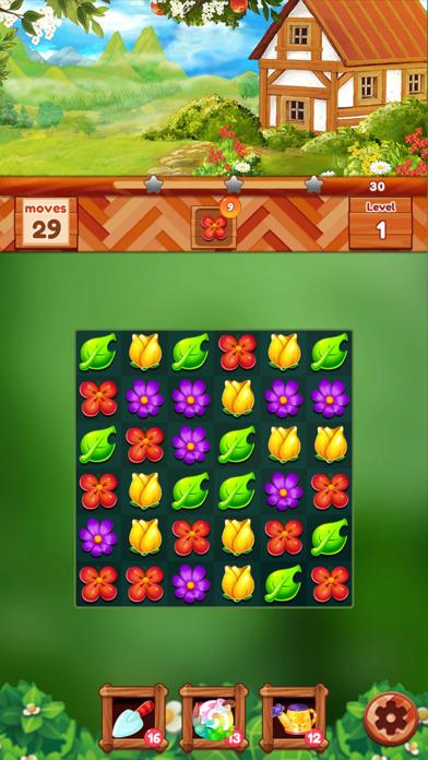 ガーデンドリームライフ:フラワーマッチ3パズルのおすすめ画像2