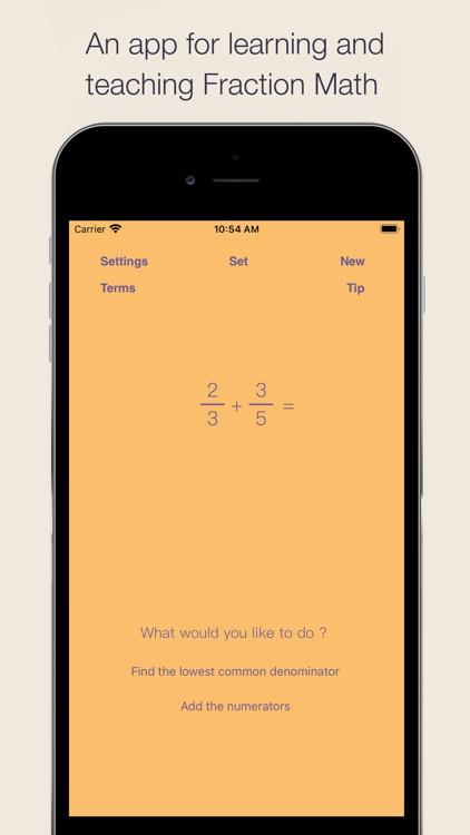 Fraction Math screenshot-0