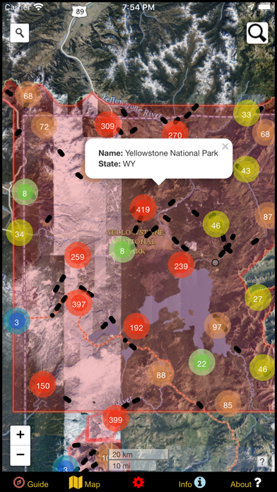US National Parks Map & Guide! screenshot 7