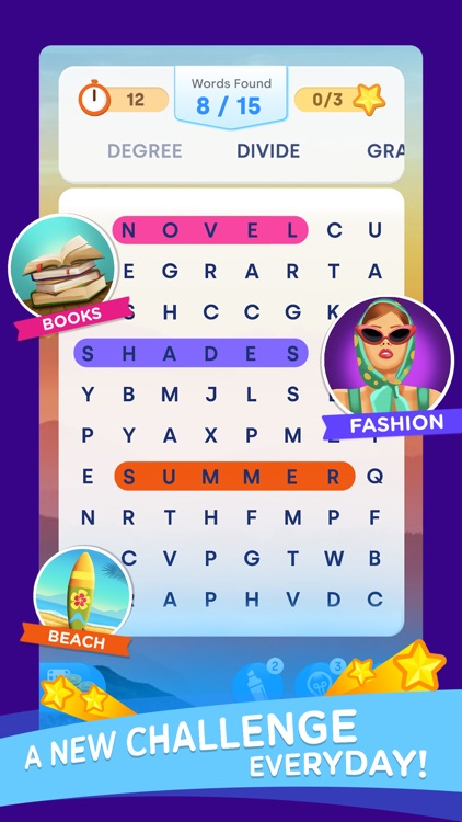 Word Search Color: Find Words screenshot-3