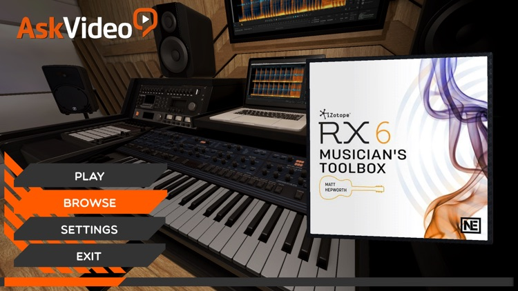 Musician's Toolbox for RX 6 screenshot-0