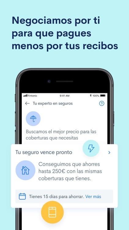 Fintonic: Tu Cuenta y Tarjeta screenshot-4