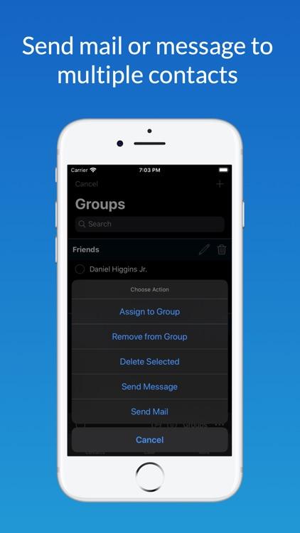 Contact Manager + screenshot-3