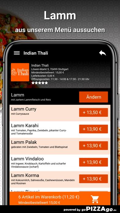 Indian Thali Stuttgart screenshot 5