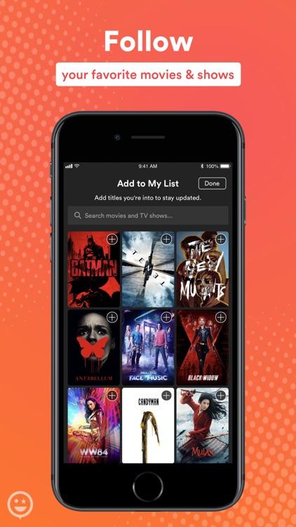 Stardust-Movie & TV Social App screenshot-3