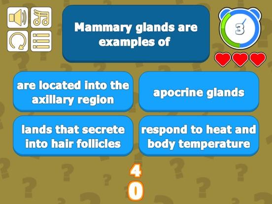 Integumentary Sys Skin Quiz screenshot 7