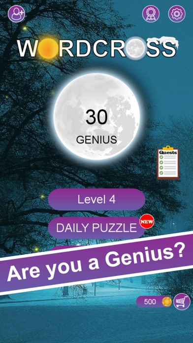 Word Cross - Brain Work Out free Hints hack