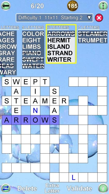 Arrow Crossword & Other Games screenshot-8