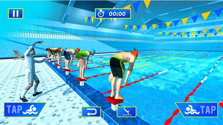 Water Swimming Pool Stunt Race screenshot-4