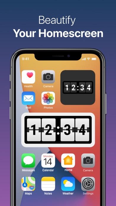 Clock Widget: Custom Clock Appのおすすめ画像2