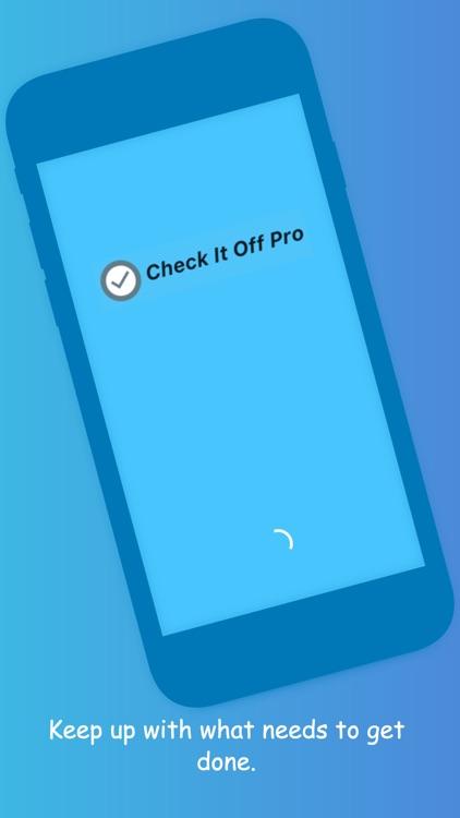 Check It Off Pro