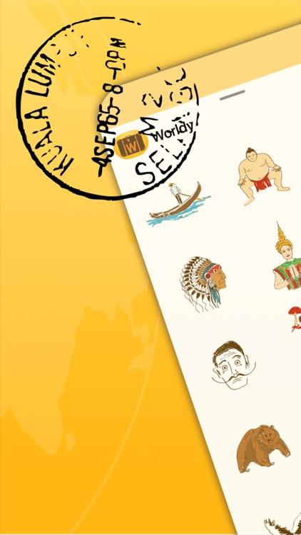 Worldy: Travel Stickers