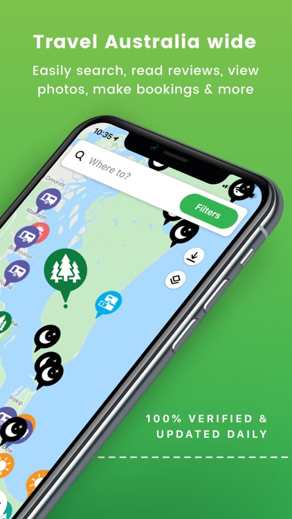 Camps Australia Wide GPS Guide
