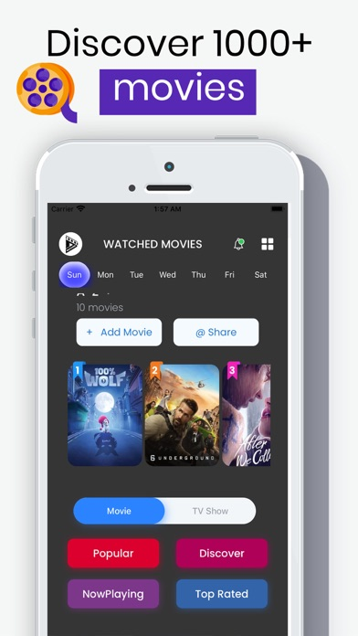 WATCHED - Multimedia Movie App