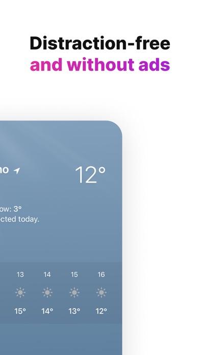 Tiny Weather: Simple forecastsのおすすめ画像5