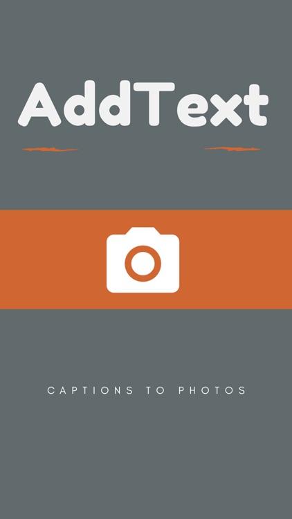 AddText - Captions to photos