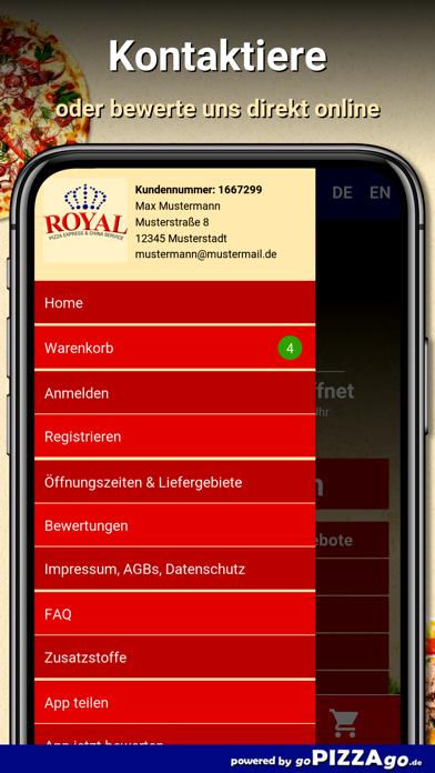 Royal Pizza Express Heilbronn screenshot 5