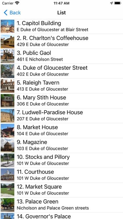 Colonial Williamsburg History screenshot-5