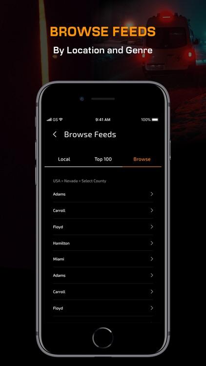Police Scanner App, live radio screenshot-3