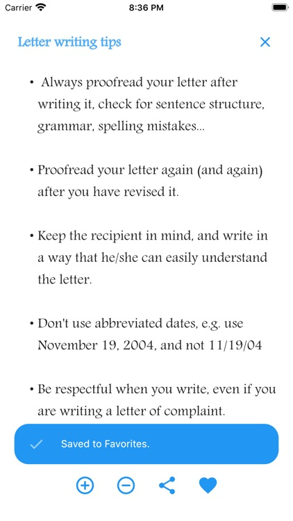 English Letter Writing