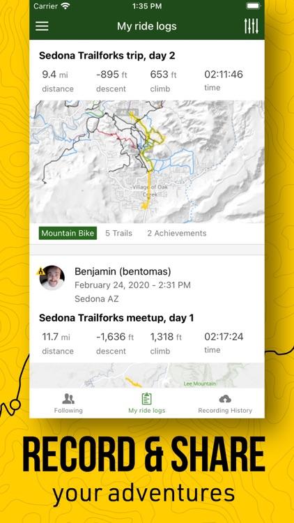 Trailforks screenshot-4
