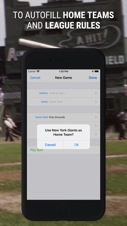 Home Field ScorebooK screenshot-7