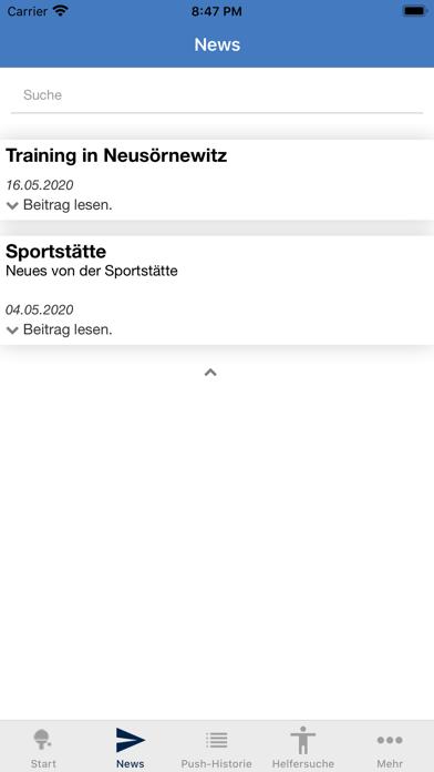TischtennisvereinRadebeul e.V.Screenshot von 3