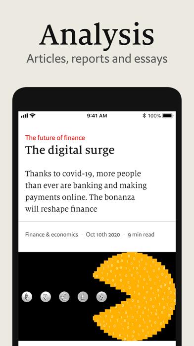 The Economist Screenshot