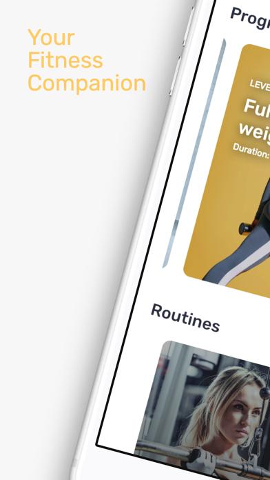 SimpleGym: Fitness AppScreenshot von 1