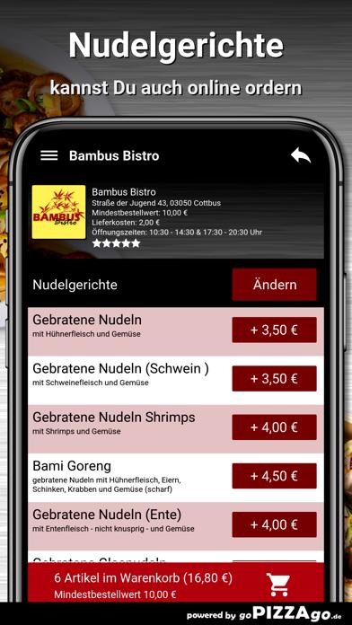 Bambus Bistro Cottbus screenshot 5