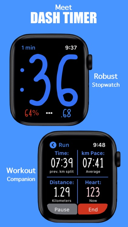 Dash Timer - Workout Companion screenshot-0