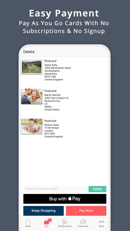 Postcard App - PostSnap USA screenshot-4